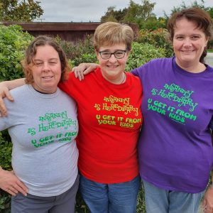 Insanity Is Hereditary You Get It From Your Kids. Eco-Friendly And Fair Trade Tee