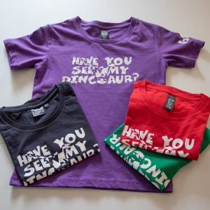 Kids 'Have You Seen My Dinosaur' Eco-Friendly And Fair Trade T-Shirts